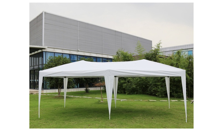 Exceptionnel ... 10u0027x20u0027 White Canopies Wedding Party Tent Patio Outdoor Gazebo Garden  ...