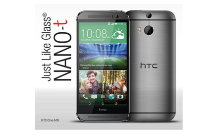 HTC One M8 Just like Glass® NANO-t Screen Protector