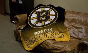 "NHL 50""x60"" Raschel Throw Blanket"