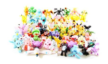 144 Pcs Random Pokemon Monster Action Figures Cute Toys Great Gift