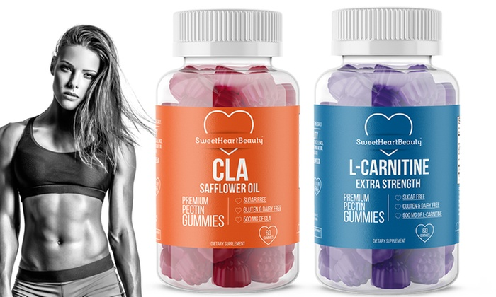Premium Cla And L Carnitine Fat Burner Gummies 1 Or 2 Pack Groupon