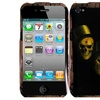 Insten Design Rubber Cover Case For Apple iPhone 4S