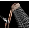 "AKDY 9"" 3-Function Rainfall Style Spray Jets Handheld Shower Head Wand"