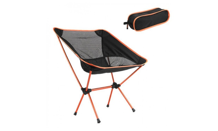 alppstore: Outdoor Portable Folding Chair Camping Hiking Picnic BBQ