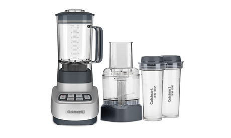 VELOCITY Ultra Trio Blender/Food Processor with Travel Cups 851e03a9-bdd0-4b5d-9396-a13157af04be