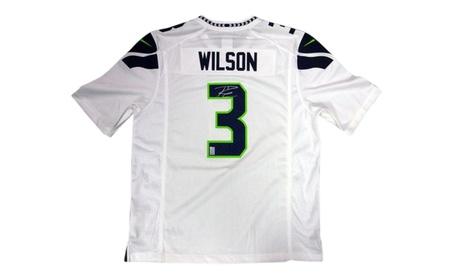 Autographed Russell Wilson Seattle Seahawks White Nike Jersey 2f5123c5-3509-4b6f-aa97-73fce201edac
