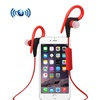 Bluetooth Headphone with Secure Ear Hook and Remote