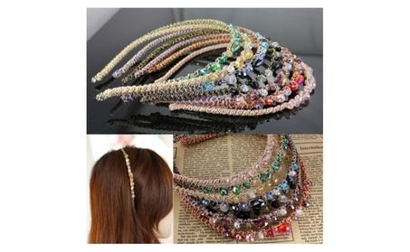 Chic Rhinestone Crystal Headpiece Chain Jewelry Headbands ca14cfcb-a6c1-47e2-bb5c-0d6ad18b05e4