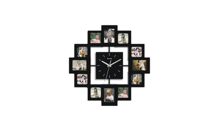 6f3b473d85fb Creative Motion 12 Photo Frames And Clock