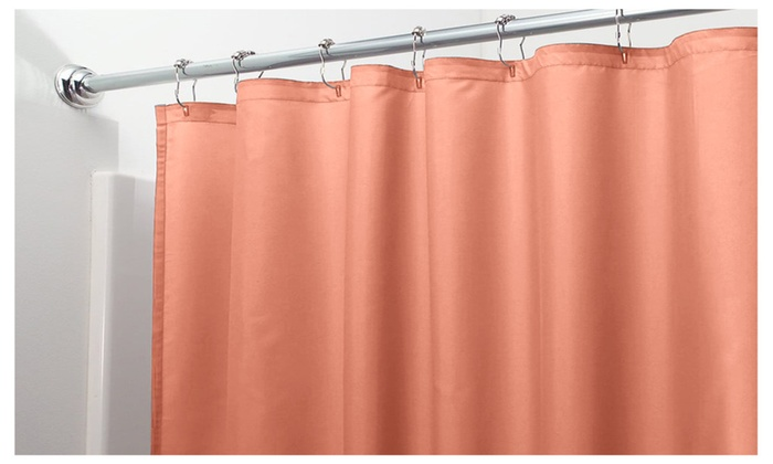2 Pack Heavy Duty Magnetic Shower Curtain Liner