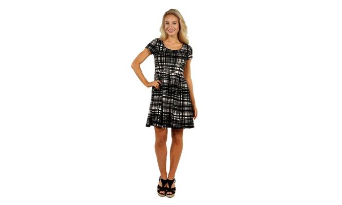 24/7 Comfort Apparel Springtime Belle Dress
