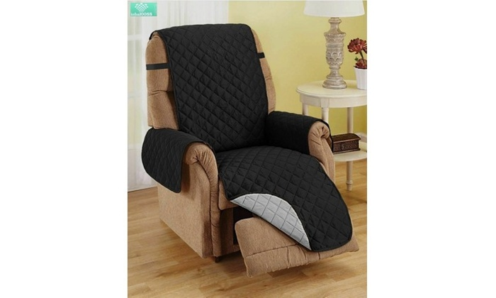 Recliner Cover Reversible Chair Furniture Protector Quilted Microfiber 75x65/'/'