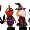 Creative Halloween Decoration Plush Pumpkin Witch Dolls Children Toy