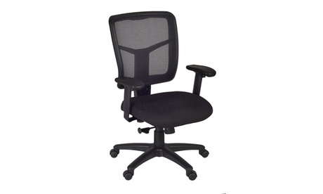 Kiera Mesh Back Swivel Chair - Black df2d1e0a-8cbf-4af4-9ef9-d9cac12d2c5c