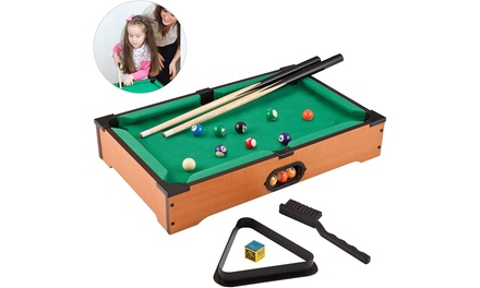 HAKOL Fun Little Games- Mini Pool Table for Adults and Kids Billiard Game