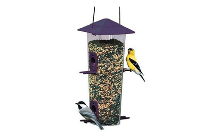Woodlink NA6151 Hopper Songbird & Thistle Bird Feeder (Goods For The Home Patio & Garden Bird Feeders & Food) photo