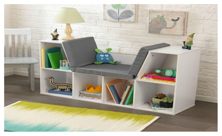Kidkraft Bookcase With Reading Nook Toy Groupon