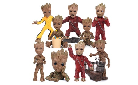 Guardians of The Galaxy Groot Resin Figure Statue Toy c6ad028f-198c-4653-8266-c091ea46e4aa