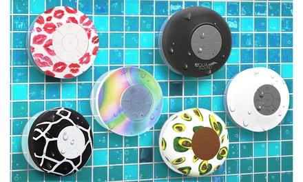 Aduro AQUA Sound Bluetooth Shower Speaker with Mic and Controls
