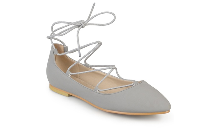 9e3ca3e47 Journee Collection Womens Pointed Toe Ballet Flats | Groupon