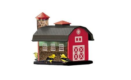 Audubon Red Barn Combo Seed Bird Feeder Model 6290 (Goods For The Home Patio & Garden Bird Feeders & Food) photo