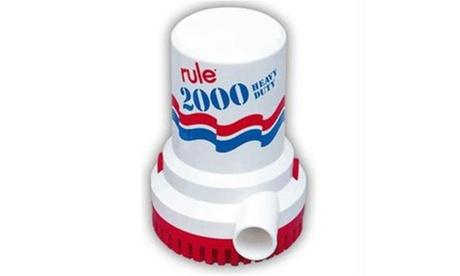 Rule 2000 GPH Non-Automatic Bilge Pump - 32v photo