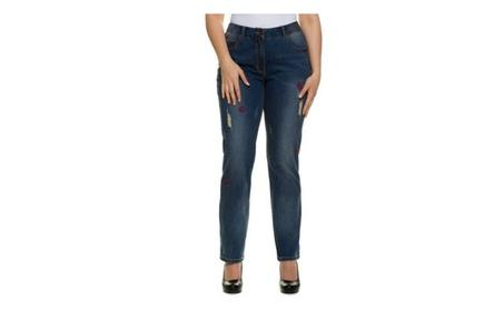 Women's Plus Size Distressed Boyfriend Jeans 7c0ae2eb-3521-47f6-b9e0-ed2068a33365