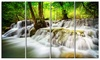 Erawan Waterfall - Landscape Photo Metal Wall Art