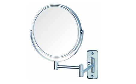 Jerdon JP7506CF 8-Inch Wall Mount Makeup Mirror with 5x Magnification e7f9304d-9f20-43de-b33c-f08f0c8015a9