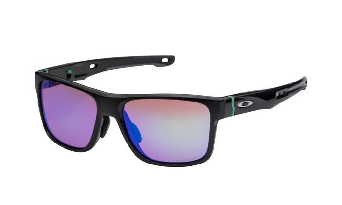 ... Oakley Crossrange Sunglasses Black Prizm Golf 9371-0357 Cross Asian Fit  G30 b1bb0777455