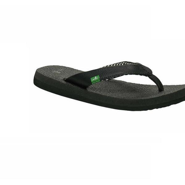 Women/'s Shoes Sanuk Yoga Mat Casual Flip Flop Sandals SWS2908 White *New*