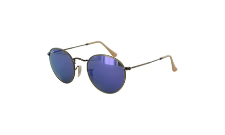Ray Ban Womens RB3447 Round Metal Frame Sunglasses b4456e7d-5032-40c7-986c-2abccfbb397f