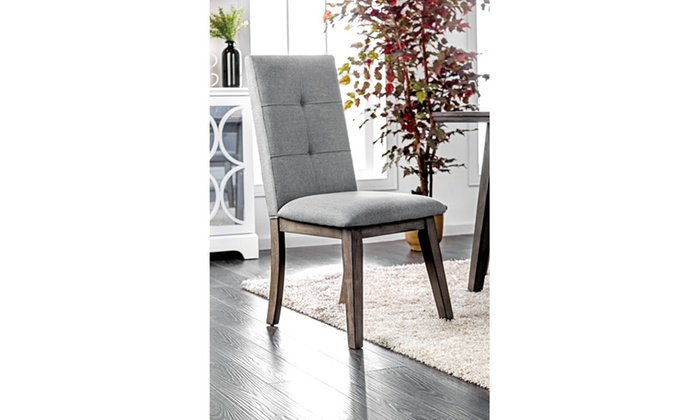 Sensational Furniture Of America Derik Mid Century Modern Side Chair Set Machost Co Dining Chair Design Ideas Machostcouk