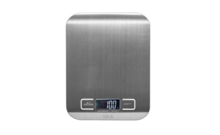 Digital Kitchen Food Scale Stainless Steel W/ LCD b1244719-3ae5-4a1d-9394-348fb3dfd68f