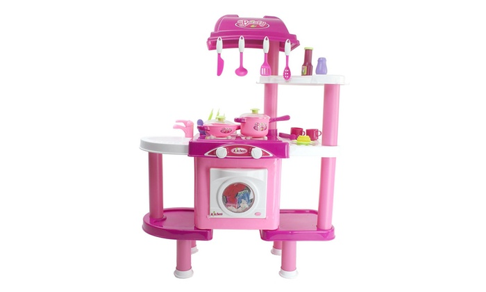 beauty kitchen toy pink kitchen playset - Kitchen Playset