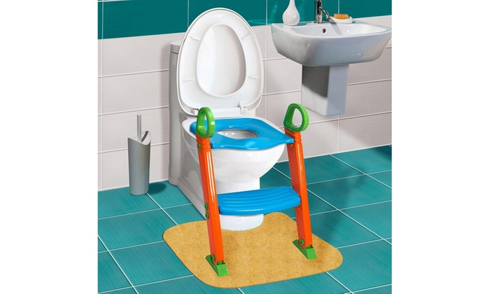 Portable Folding Kids Potty Training Seat With Step Stool