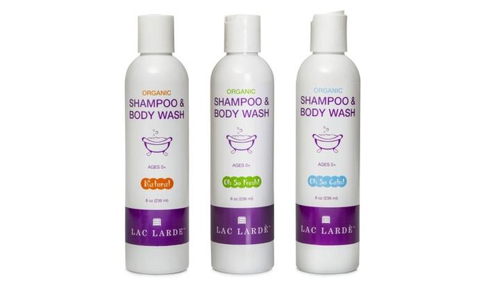 Lac Larde Oh So Fresh Gentle... Baby Shampoo And Body Wash Organic Ingredients