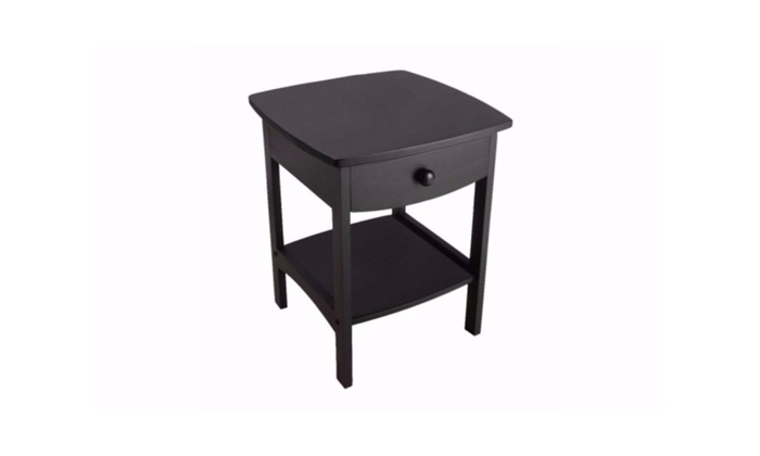 Merveilleux Curved Nightstand / End Table