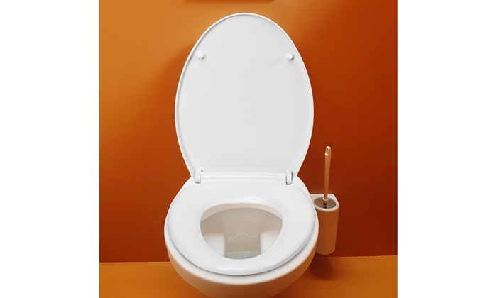 Remarkable Up To 40 Off On Elongated Front Toilet Seat A Groupon Ocoug Best Dining Table And Chair Ideas Images Ocougorg
