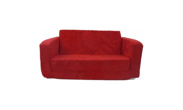 Etonnant Toddler Flip Sofa, Red Micro ...