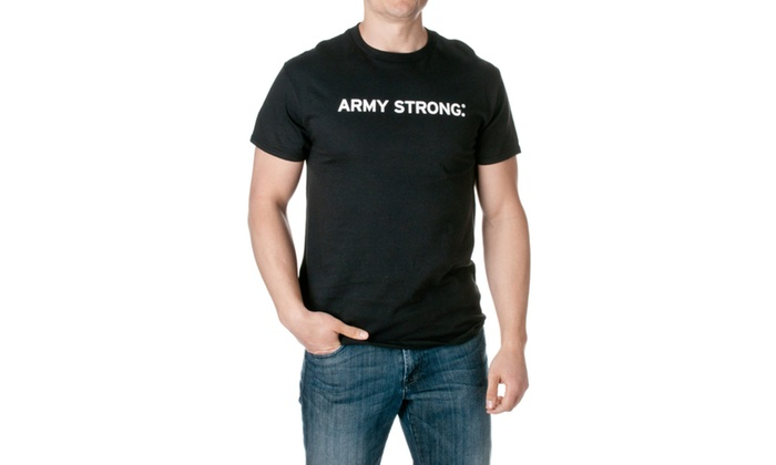 US Army Officially Lincensed Army Strong Tee M21411010