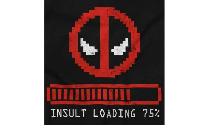 29fb70c6 Insult Loading 75% Comic Book Nerdy Geek Long Sleeve T Shirt | Groupon