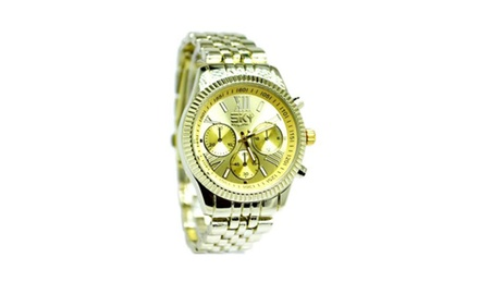 Ultra Chic Large Faced Sky Marine Watches - Assorted Styles