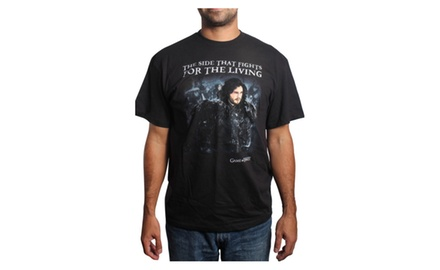 Game of Thrones - Got a Jon Snow conscience? Black T-shirt