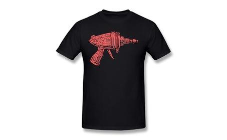 Bsgez Ames Bros Flash Ray Gun Blue Black Tee f3bf851f-d02f-4f64-92e1-d5df35c8e3f7