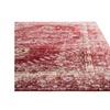 Vintage Look Pattern Red/Pink Polypropylene Eris Area Rug