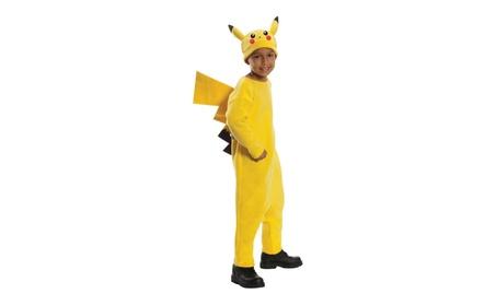 Rubies Costume Co R884779-L Boys Deluxe Pokemon Pikachu Costume 6803477c-085d-4598-a054-298e0ab2a1b8