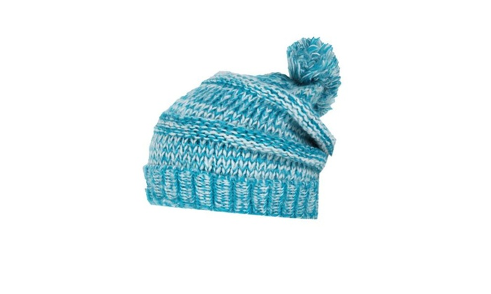 Women's Solid Casual Single Layer Insulated Woollen Hat – Blue / One Size