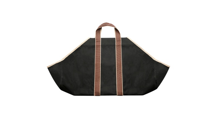 Portable Canvas Heavy Duty Log Carrier – Makes Moving Logs Easy