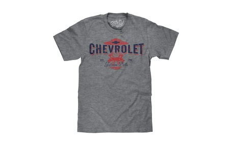 Chevrolet EST. 1911 Chevy Genuine Parts Graphic Shirt photo